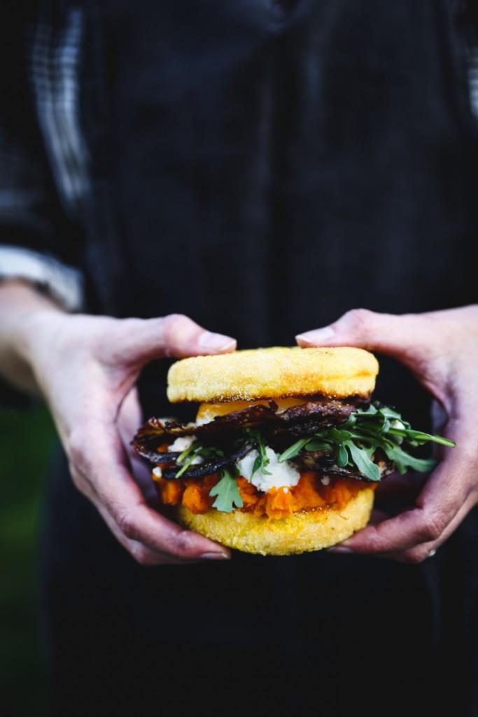 Kabocha Squash & Fried Egg Breakfast Sandwich | Photography & Styling by Christiann Koepke of Portlandfreshphoto.com-17