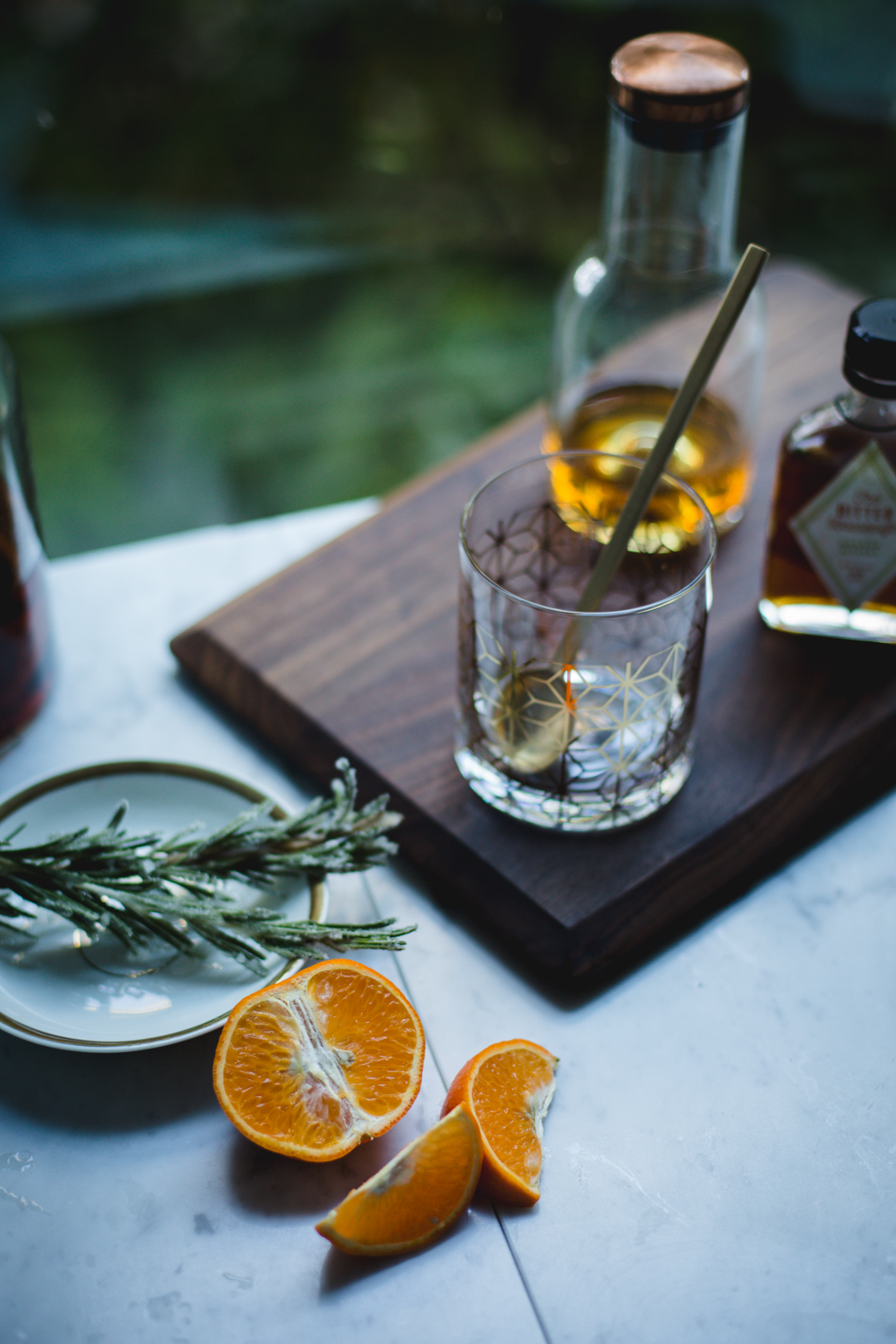 Bourbon Citrus Rosemary Sour | Photography & Styling by Christiann Koepke of Christiannkoepke.com_-4