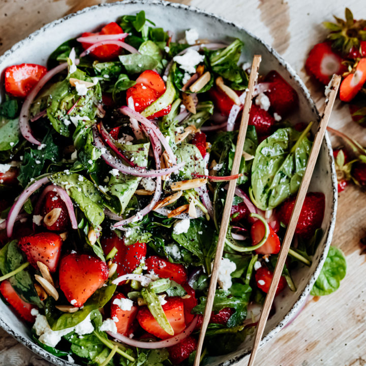 Early Summer Strawberry Salad